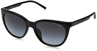 Armani Exchange Women's Plastic Woman Sunglass Cateye
