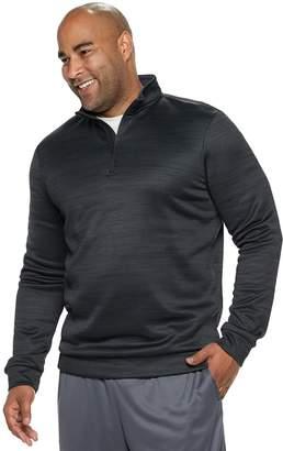 Tek Gear Big & Tall Regular-Fit Performance Fleece Quarter-Zip Pullover