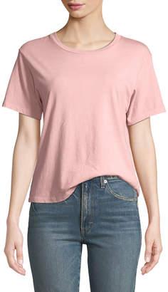 Amo Denim Classic Cotton Short-Sleeve Crewneck Tee