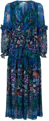 Peter Pilotto Floral Midi Dress