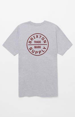 Brixton Oath Grey T-Shirt