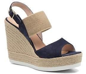 Cosmo Paris Women's Cosmoparis Casti Sandals In Blue - Size Uk 6.5 / Eu 40