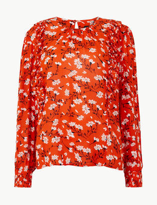 Marks and Spencer Floral Print Blouse