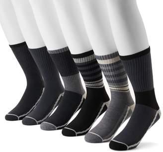 Levi's Levis Men's 6-pack Athletic Crew Socks