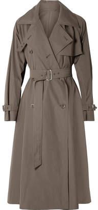 Max Mara Albano Cotton-poplin Trench Coat
