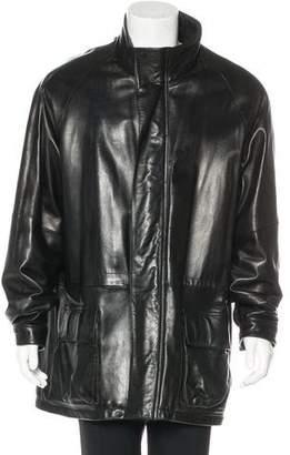 Andrew Marc Leather Coat