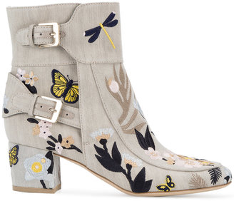 Laurence Dacade Babacar embroidered boots $1,190 thestylecure.com