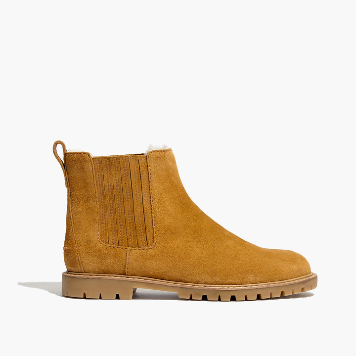 The Carlin Shearling Chelsea Boot