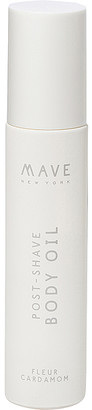 MAVE New York Post Shave Body Oil.