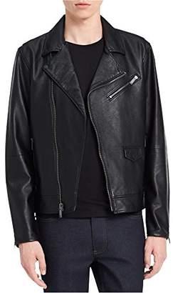 Calvin Klein Jeans Men's Faux Leather Perfecto Jacket