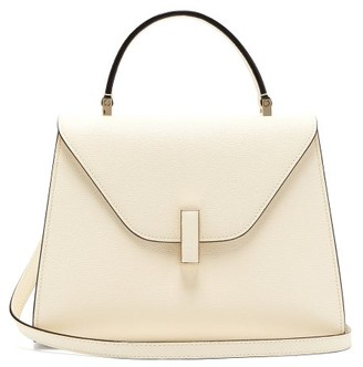 Valextra Iside Medium Leather Bag - Womens - White