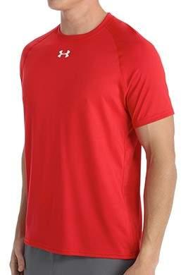 Under Armour 1268471 HeatGear Locker Short Sleeve T-Shirt (Red/White L)