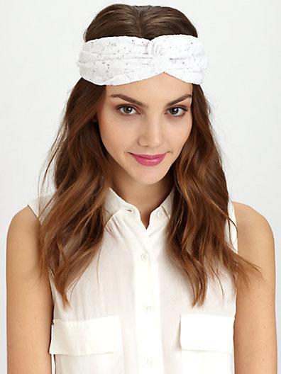 Eugenia Kim Genie By Penny Lace Twist Turban Headband