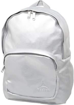 Reebok Womens Premium Metallic Backpack Silver Metallic
