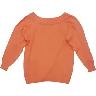 Gianni Versace Orange Cotton Knitwear for Women Vintage
