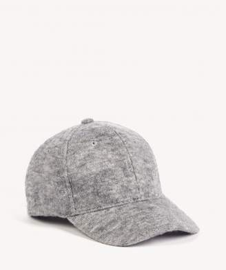 Sole Society Sweatshirt Textured Baseball Cap