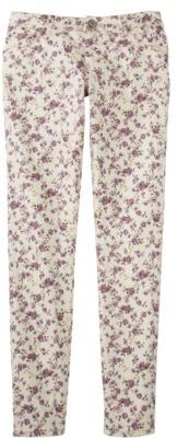 Mossimo Juniors Printed Floral Denim - Pink