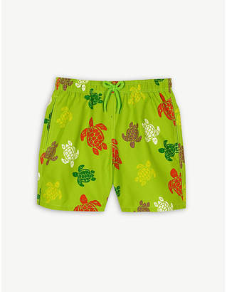 Vilebrequin Turtle print swim shorts 4-14 years
