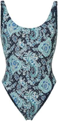 MICHAEL Michael Kors paisley print swimsuit