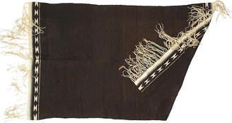 One Kings Lane Vintage Mexican Rio Grande Mayo Blanket/Rug