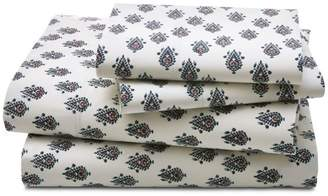 DwellStudio Flame Paisley Sheet Set, King