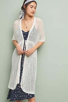 56f0a058246d Anthropologie Short-Sleeved Cover-Up Kimono