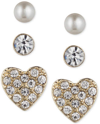 lonna & lilly Trio Set of Small Stud Earrings