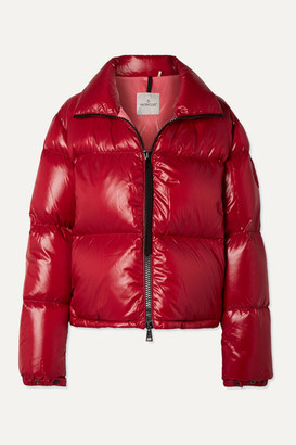 Moncler Quilted Shell Jacket - Red