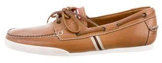 Hunter Leather Boat Shoes