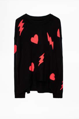 Zadig & Voltaire Marcus Bis Cachemire Sweater