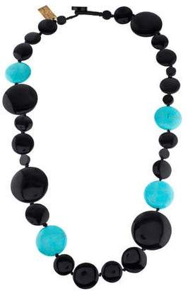 Viktoria Hayman Resin & Composite Turquoise Necklace