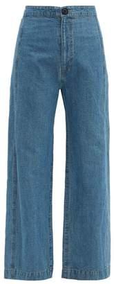 Sea Piper Wide Leg Jeans - Womens - Denim