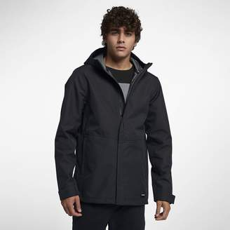 Hurley Mens Hooded Jacket Outrider 3-Layer Shell