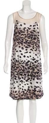 Chris Benz Silk Printed Dress