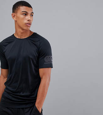 Canterbury of New Zealand Vapodri Superlight T-Shirt In Black Exclusive To ASOS
