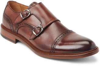 Antonio Maurizi Dark Brown Leather Double Monk Strap Shoes