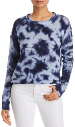 Bloomingdale's C by Tie-Dye Drop-Shoulder Cashmere Sweater - 100% Exclusive