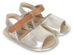 Old Soles Baby's Contrast Leather Sandals $53 thestylecure.com
