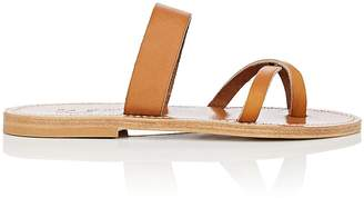 K. Jacques Women's Tonkin Leather Slide Sandals