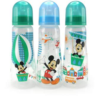 The First Years Disney Baby Mouse Slim Bottles,8 oz, 3 Pack