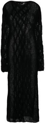 Miu Miu long knit jumper dress