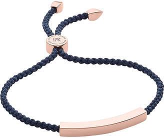 Monica Vinader Linear rose-gold friendship bracelet