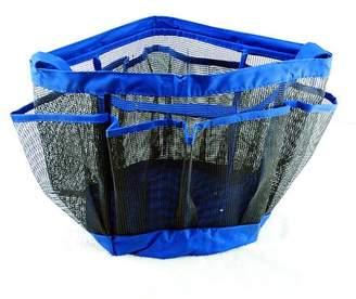 Binmer Mesh Shower Tote Wash Bag Bathroom Caddy With 8 Basket Pocket Storage Package