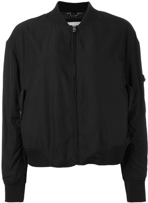 Calvin Klein Jeans sleeve zip bomber jacket $181.83 thestylecure.com