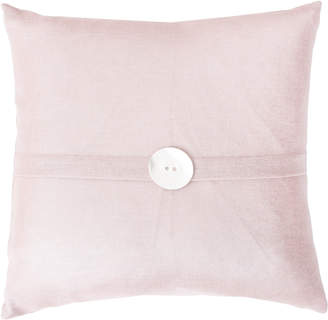 Marlo Lorenz Thro By Metallic Flax Linen Pillow