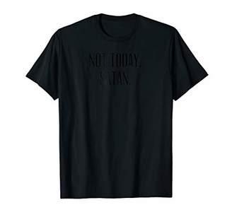 Not today Satan attitude Funny T shirt