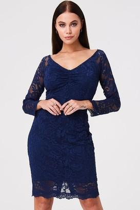 6c8f73aade9b Paper Dolls Belgrave Navy Lace Dress