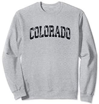 Vintage Colorado Crewneck Sweatshirt College Style Sports US