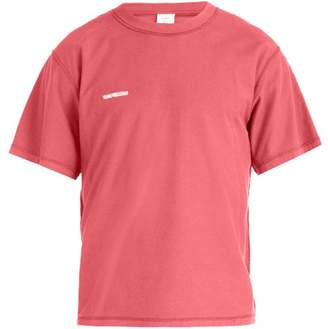 Vetements Inside Out Cotton T Shirt - Mens - Red