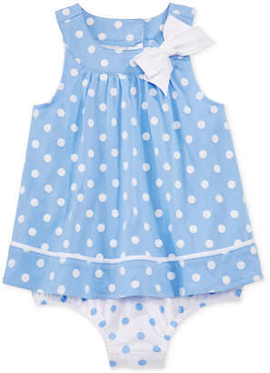 First Impressions Baby Girls' Dot-Print Sunsuit, Only at Macy's $18 thestylecure.com